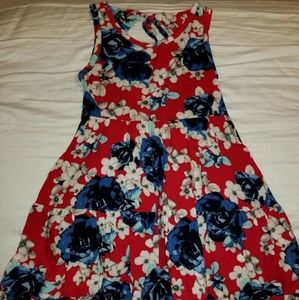 Justice Girls Summer Dress sz 7 like new